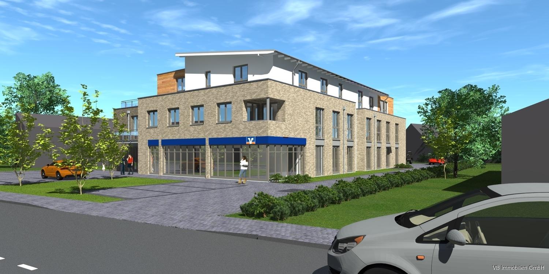 Immobilie Bönningstedt - Neubau - Mietbeginn 2. Quartal 2022 2-Zimmerwohnung mit Fahrstuhl und Stellplatz   in zentraler Lage von Bönningstedt