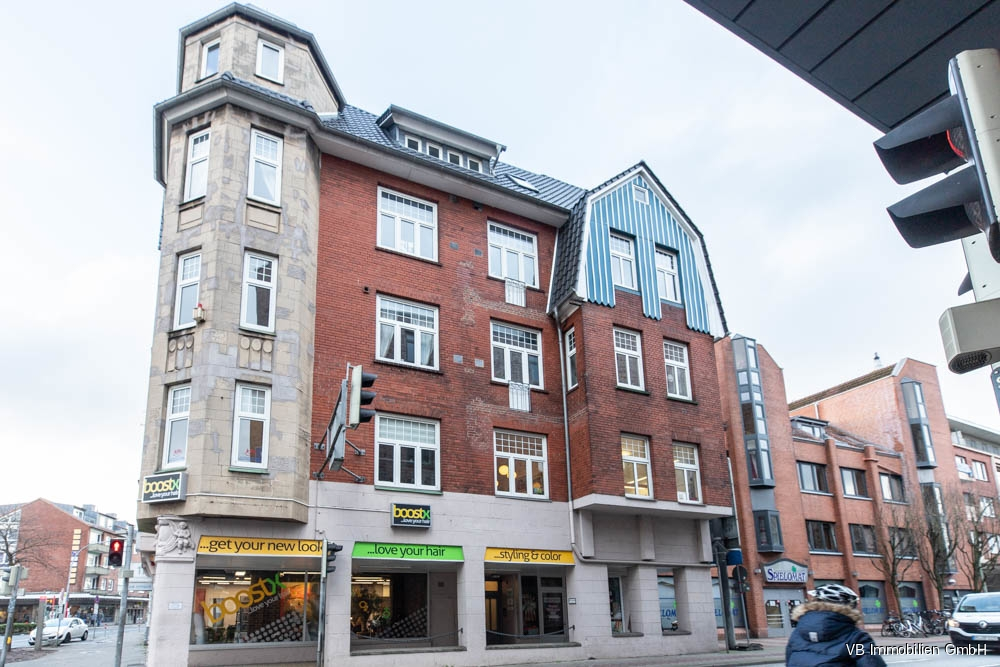 Immobilie Elmshorn - Praxisräume oder Büro! Hochwertig renovierte Altbaufläche in Innenstadtlage von Elmshorn zu mieten!