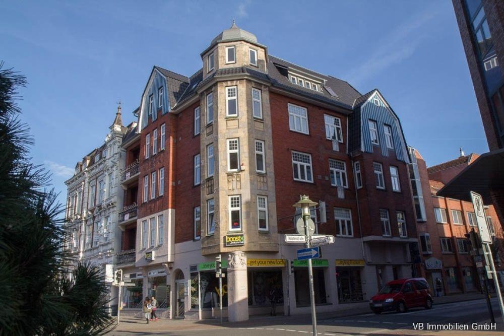 Immobilie Elmshorn - Elmshorn! Stilvolle Gewerberäume mit Altbaucharme in direkter City-Lage zu vermieten!