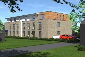 Immobilie Bönningstedt - Neubau - Mietbeginn 2. Quartal 2022 3-Zimmerwohnung  mit Fahrstuhl und Stellplatz in zentraler Lage